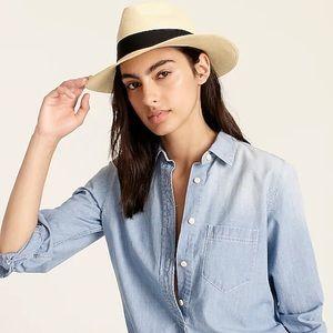 NWOT - J. Crew Panama Hat